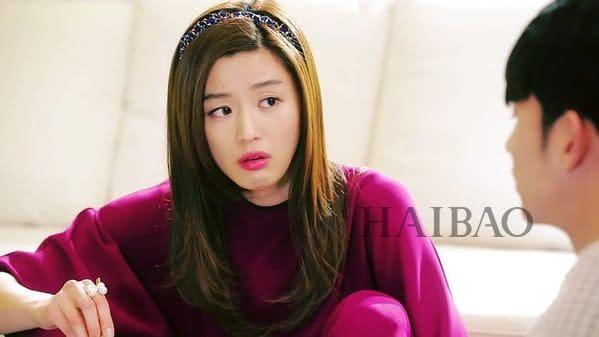 全智賢在《來自星星的你》中的經典造型髮箍造型